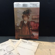 """Vogue Craft 18"""" Doll Historical Clothes Sewing Pattern 7098 683 Linda Carr - $13.32"""
