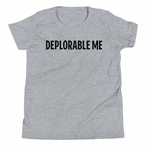 Tremendous Designs Deplorable Me Funny Youth Short Sleeve T-Shirt Trump Athletic