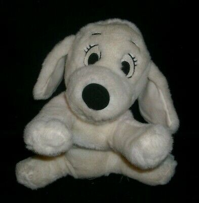 "12"" 101 DALMATIANS DISNEY STORE PENNY PINK GIRL STUFFED ANIMAL PLUSH TOY PUPPY"