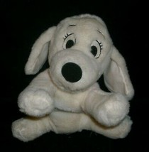 "12"" 101 DALMATIANS DISNEY STORE PENNY PINK GIRL STUFFED ANIMAL PLUSH TOY PUPPY image 1"