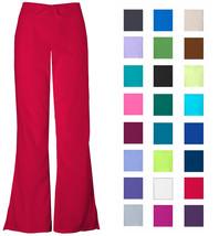 Women's Flare Leg Scrub Cargo Pants DSF Medical Uniform 400 - $11.99