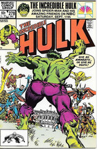 The Incredible Hulk Comic Book #278 Marvel Comics 1982 Near Mint New Unread - $7.84