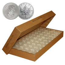 25 Direct-Fit Airtight H38 Coin Capsules Holders For CANADIAN MAPLE LEAF... - $22.89