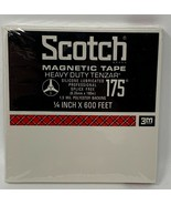 Scotch Magnetic Tape 175 1/4 Inch X 600 Feet New NOS Factory Sealed 19-529A - $10.40