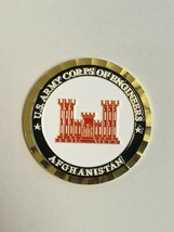 Limited US Army Corps of Engineers Operation Resolute Support Challenge Coin - $35.00