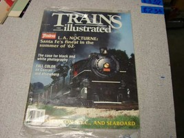 Trains Illustrated magazine new in package December 1989 - $6.44