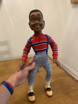 Vintage 1991 Hasbro Family Matters Steve Urkel Doll 17in Working Talking Doll - $33.66