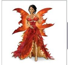 Fire Fairy Cindy McClure Doll Fairies of Twilight Ashton Drake - $148.49