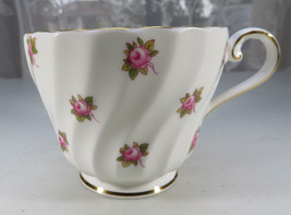 Vintage Aynsley Porcelain Tea Cup Hathaway Bone China Pink Roses England - $15.00