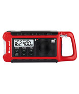 Midland ER210 E+ Ready Emergency Radio Crank, Solar & Battery Powered Be... - $45.95