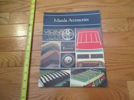 Mazda Accessories 1981 Car truck Dealer Sales Brochure - $9.99