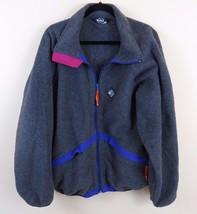 Vintage Woolrich Sigmet Gear Fleece Jacket Coat Size L Made in the USA  - $28.66