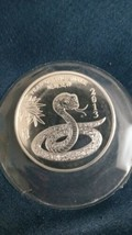 2013 1/2 oz Silver Round - Year Of The Snake - $25.00
