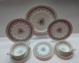 RARE!!! Conway by ROYAL CAULDON BONE CHINA  ONE 9 Piece Place Setting - €57,11 EUR