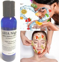 Bulk lot 4 oz AHA Night Toner Exfoliate B4 Nutrients Alphahydroxy Refill Resell - $31.87