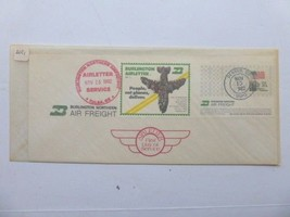 Burlington Northern Air Freight Airletter 1st Day Service Cover, Nov 15 ... - $9.80