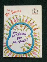 Oh, the Thinks You Can Think by Dr Seuss Hardcover - $18.95