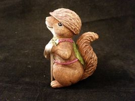 Department 56 Garden Guardians Chester the Chipmunk w Walnut Helmet Twig Spear image 3