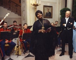 President Gerald Ford watches Pearl Bailey sing at White House New 8x10 ... - $8.81