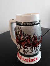 Budweiser 1933-1983  Clydesdales - 50th Anniversary Stein Made in Brazil by Cera image 1