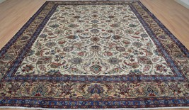 10x13 Collectible 1930s Genuine Antique Persian Mood Hand Knotted Wool A... - $1,583.01
