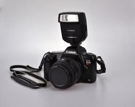 Canon EOS Rebel II Camera Body 35-80mm SLR Film Camera Flash - $81.23