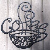 Steaming Coffee Mug Metal Wall Art - $25.50+