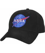 NASA Baseball Hat Meatball Official Space Logo Embroidered Adjustable Da... - $10.99