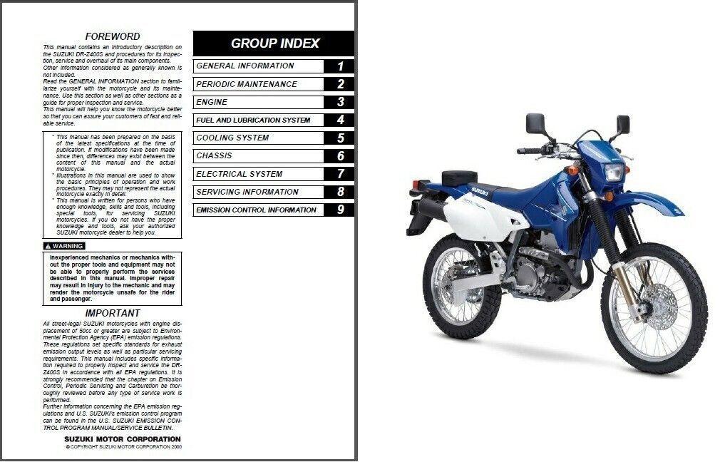 Bestseller  Service Manual 86 Suzuki Dr200