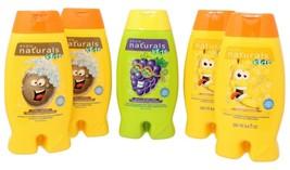 Avon Naturals Kids Body Wash and 2n1 Shampoo Grape Coconut Banana Lot of 5 - $38.61