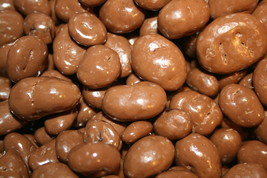 MILK CHOCOLATE COVERED RAISINS, 2LB - FREE SHIPPING - $17.61