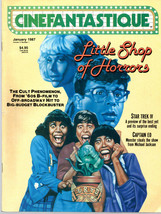 Cinefantastique v17 #1, Jan. 1987 - Little Shop Of Horrors - $9.00