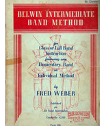 Belwin Intermediate Band Method Song Book for Class or Full Band Instruc... - $5.99