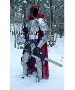 NauticalMart Medieval Knight Wearable Full Suit Of Armor- LARP Custom Size - $899.00
