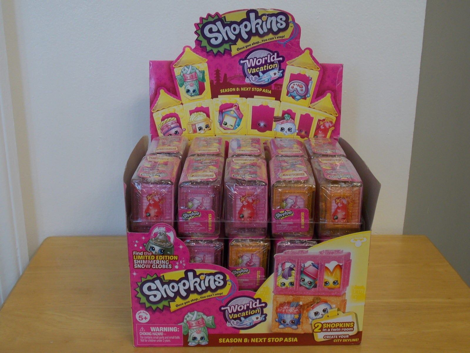 Primary image for 1-Shopkins World Vacation Series 8 Asia Blind Bag 2pk