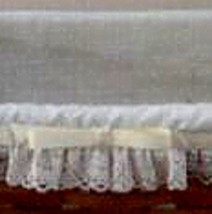 Longaberger Spring  Basket Liner ~ Muslin Fabric - $14.64