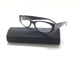 PRADA Purple Multi Geometric Frame  VPR 03P MAT-1O1 Eyeglasses  51MM - $96.97