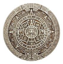 Ebros Mexica Aztec Solar Xiuhpohualli & Tonalpohualli Wall Calendar Scul... - €33,37 EUR