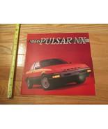Nissan Pulsar NX1985 Dealer car Sales Brochure - $9.99