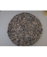 Chair Pad Handmade with recycled clothing TF027/ALS - $9.93
