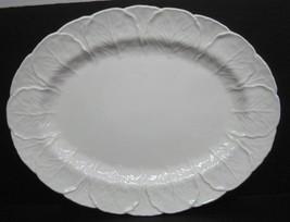 "Coalport Countryware 15 1/4"" Serving Platter Excellent Shape Cabbage Lea... - $108.90"