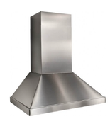 Best K4136SS 36 Inch Wall Mount Chimney Hood in Stainless Steel - $989.95