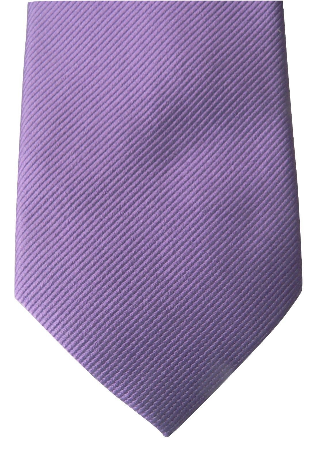 NWT GIORGIO ARMANI black label Italy silk tie necktie purple lavender $245 sharp - $144.53