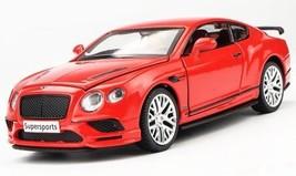 2017 Bentley Continental Supersports GT 1:32 Alloy Diecast Car Model Met... - $26.99