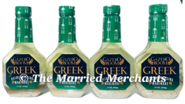4 - Gazebo Room Greek Salad Dressing & Marinade 16 oz ea Gluten Free 202... - $37.99