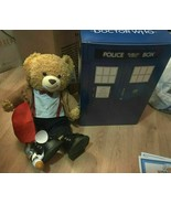 Build A Bear Doctor Who Bear Eleventh Doctor TARDIS Gift Set 16'' - $51.43