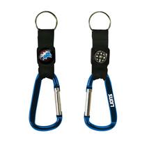 Non Metal Nfl Detroit Lions Navi-Biner Key Ring By Rico Industries (Length=5.75) - $15.12