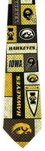 Iowa Hawkeye Pride Mens Silk Necktie College University Logo Gift Neck Tie  - $31.68