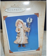 Hallmark Ornaments Father Christmas Collectors Series 2004 New In Box - $12.99