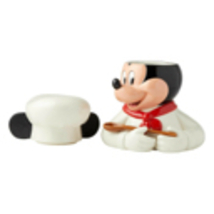 "11"" High Mickey Mouse Cookie Jar -  White Chef Design - Licensed Disney Decor image 5"